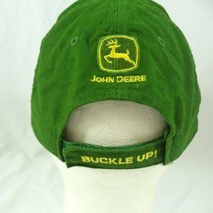 d25eb2e182e76 bwm global Accessories - Cincinnati Reds John Deere Jason LaRue  23 Cap Hat